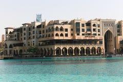 Yttre sikt av den Dubai gallerian Royaltyfri Fotografi