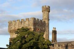 Yttre sikt av den Lismore slotten, Co Waterford, Munster landskap, Irland Arkivbilder