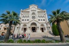 Yttre sikt av det historiska helgonet Nicholas Cathedral arkivfoton