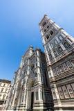 Yttre sikt av Florence Cathedral i Italien Royaltyfria Foton