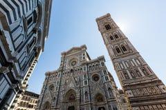 Yttre sikt av Florence Cathedral i Italien Royaltyfri Bild