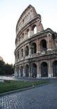 Yttre sikt Colosseum Rome Fotografering för Bildbyråer