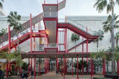 Yttre trappa av den Los Angeles County konstmuseet Royaltyfri Foto