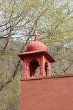 Yttre vägg av den inre Ranthambore för vakt- och säkerhetspunkt nationalparken royaltyfri foto