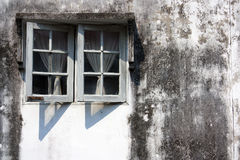 Yttre vägg fönstret. Fotografering för Bildbyråer