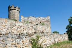 Yttre vägg Mühlenburg Fotografering för Bildbyråer