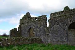 Yttre väggar av den Hore abbotskloster Fotografering för Bildbyråer