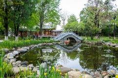 Yu'er park jest w środkowej sekci Yu'er droga w Dali Starym miasteczku Zdjęcie Royalty Free
