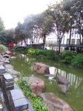 Yu庭院上海 库存图片
