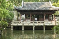 Yu庭院在上海,中国 免版税库存图片