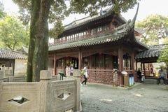 Yu庭院在上海,中国 免版税库存照片