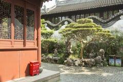 Yu庭院在上海,中国 库存照片
