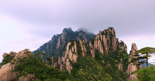 Yu Feng Jing Mountains in summer landscape Royalty Free Stock Photography