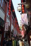 Yu Garden old street in Shanghai Royalty Free Stock Photo