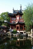 Yu Garden in Shanghai. This is a view from Yu Yuan Garden in Shanghai Royalty Free Stock Images