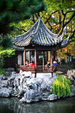 Yu Garden in Shanghai. Beautiful Yu garden in Shanghai. Taken on December 2011 Royalty Free Stock Image