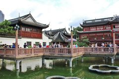 Yu Garden, Shanghai Royalty Free Stock Photography