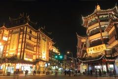 Yu Garden Shanghai night China Royalty Free Stock Image