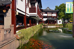 Yu Garden in Shanghai Royalty Free Stock Photos