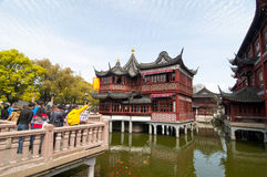 Yu Garden in Shanghai Stock Image