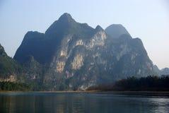 Yu Long river landscape in Yangshuo, Guilin, Guanxi, China Stock Images
