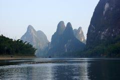 Yu Long river landscape in Yangshuo, Guilin, Guanxi province, China Stock Photo