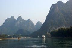 Yu Long river landscape in Yangshuo, Guilin, Guanxi province, China Stock Photos