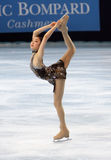 Yu-Na KIM (KOR) short program Royalty Free Stock Photography