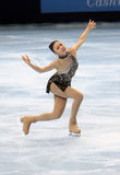 Yu-Na KIM (KOR) short program Stock Photos