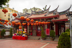 Yu-qing temple in Taiwan Royalty Free Stock Images