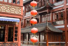 yu yuan павильонов базара Стоковые Фото