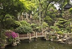 Yu Yuan Gärten in Shanghai, China Lizenzfreie Stockbilder