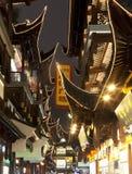 Yu Yuan trädgårds- shopping Royaltyfri Fotografi