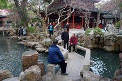 Yu Yuan Yu Gardenin Shanghai, China Royalty Free Stock Image