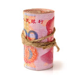 100 yuan Royaltyfria Bilder