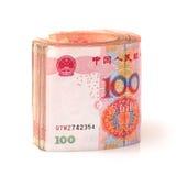 100 yuan Fotografering för Bildbyråer