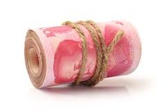 100 yuan Fotografía de archivo