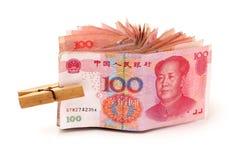100 yuan Imagem de Stock Royalty Free