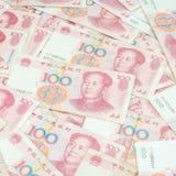 yuan 100 Royalty-vrije Stock Foto's
