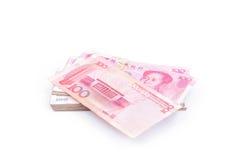 100 yuan Fotografia de Stock