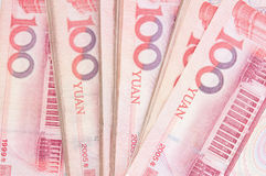 100 yuan Foto de Stock Royalty Free