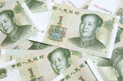 Yuan bank note Royalty Free Stock Images