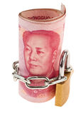 Yuan and Castle Royalty Free Stock Images