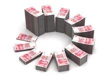 Yuan Chart Lizenzfreie Stockfotos