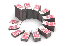 Yuan Chart Royalty-vrije Stock Foto's