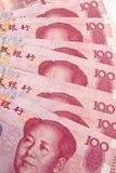Yuan chinês Imagens de Stock