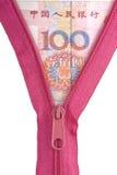Yuan chinês Imagem de Stock Royalty Free