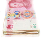 100 Yuan China Currency Fotos de Stock Royalty Free