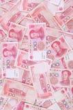 Yuan Chinees 100 Stock Fotografie