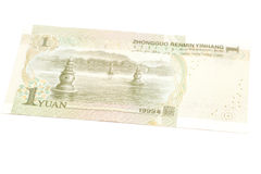 1 yuan chinese currency Stock Photo